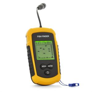 Sonar Fishfinder- 100 m Portable Depth Finder Fishing Device