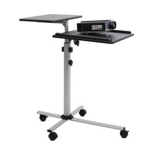TS-2 2 Level Adjustable Projector Table with Wheels