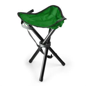 Kokoontaitettava retkituoli, vihreä/musta, 500 g vihreä