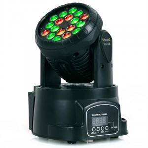 LED-108 Movinghead RGB DMX 12/4 canais