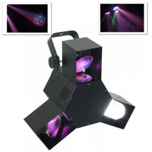 LED Triple Flex LED Disco Light Effect 8 Channel DMX