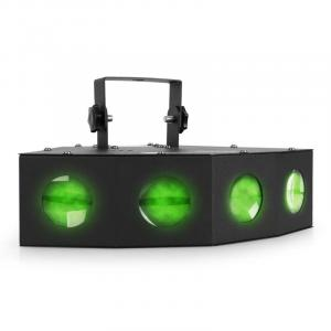 Foco mini LED con efecto de luz moonflower de 4 lentes