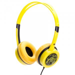 Free 30 Portable Yellow Headphones
