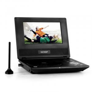 MT-749DVBT mobiler DVD-Player CD MP3 DVB-T