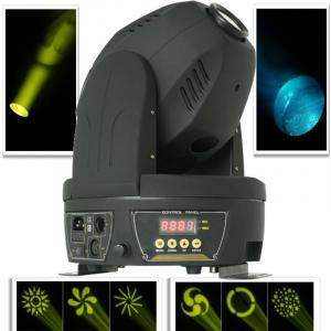 MHL-60 Spot 60WLED Moving Head Disco Light 12 DMX