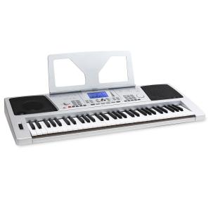 Sub61S USB MIDI Electric Keyboard 61 Keys - Silver Silver