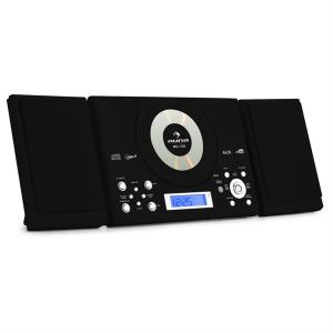 MC-120 Aparelhagem Parede CD MP3 USB Preto