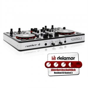 Kontrol 3 USB MIDI DJ Controller with Sound Card