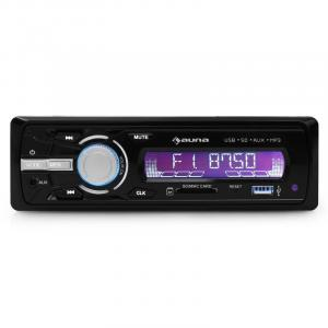 MD-120 Autoradio USB SD MP3 4x75W Line-Out