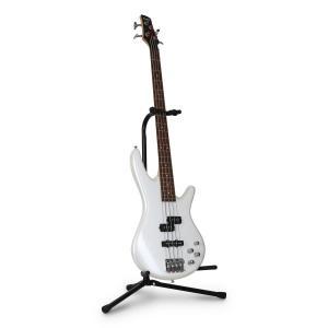 Gitarrställ Y-huvud stativ elgitarr bas pulverlackerat