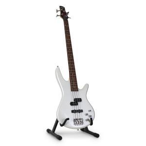 Gitarrstativ för elgitarr och bas A-stativ vadderad