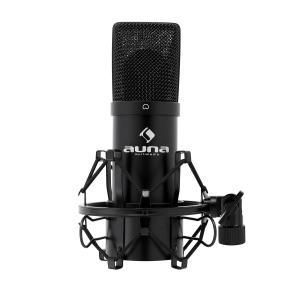 MIC-900B USB mikrofon pojemnościowy czarny nerka Czarny | Czarny