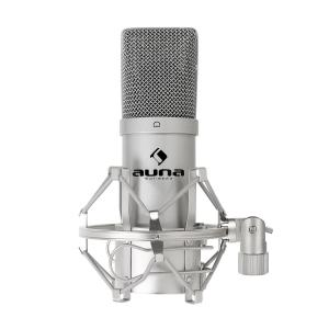 MIC 900B USB condensator microfoon cardioide studio Zilver | Zilver
