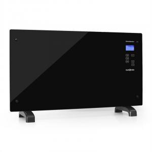HT007GL Radiador convector cristal panel táctil 2000W negro Negro