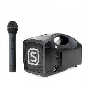 "ST-010 Megaphone 5"" Portable Loud Speaker with USB & Microphone"