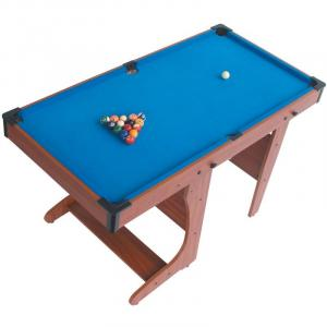PT20-46D Foldable Billiard Pool Table + Cues & Balls