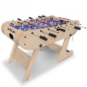 Stół do gry w piłkarzyki Riley FFT13-4LN 61x160x45 cm skład.