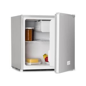 Minibar koelkast 50 liter edelstaal A+ vriesvak