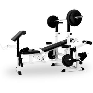 Power Station Bench Press Dumbbell Set Cable Pull Curl Station