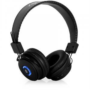 DBT-1 słuchawki z bluetooth czarne zestaw głośnomówiący