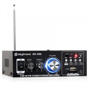 AV-360 Hi-Fi Stereo Amplifier USB SD MP3 AUX FM