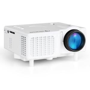 Mini Projector LED VGA AV - Branco