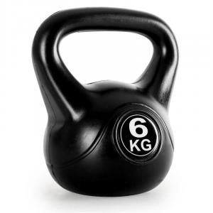 Kettlebell 6kg Training & Fitness Weight - Black 6 kg