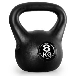 Kettlebell 8kg Training & Fitness Weight - Black 8 kg