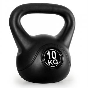 Kettlebell 10kg Training & Fitness Weight - Black 10 kg