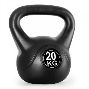 Kettlebell 20kg Training & Fitness Weight - Black 20 kg