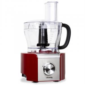 MX-18 Küchenmaschine 800W rot 8 Funktionen Mixer