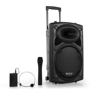 "Port12VHF-BT sound system USB SD bluetooth nero | 30 cm (12"")"