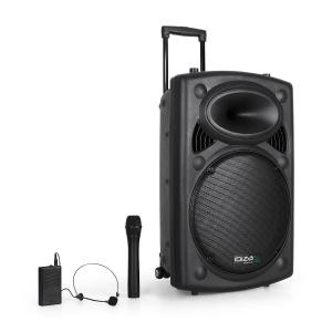 "Port15VHF-BT Sono portable 38 cm (15"") USB SD AUX MP3 Bluetooth Noir 