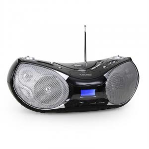 AH 231 kannettava boombox CD MP3 USB SD AUX