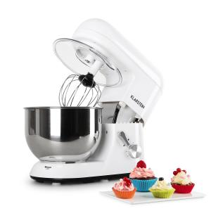 Bella Bianca Kitchen Machine Stand Mixer 1200W 5 Litre White White