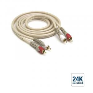 G & BL RCA cable, gold plated 5m