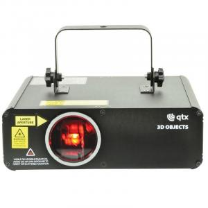 3D Objects Laser Effektlaser RGB 46 LEDs DMX