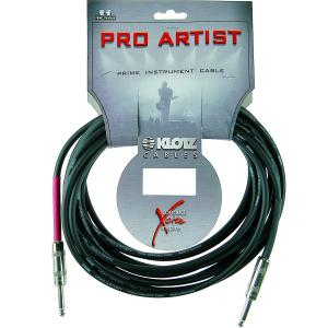 Pro Artist PROA030PP Instrument Cable Straight 3M Black
