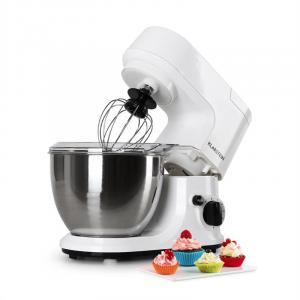 Carina Bianca keukenmachine 800W 4 liter Wit
