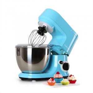 Carina Azzura- Robot de cuisine patissier 4l 6 vitesses 800W - bleu Bleu
