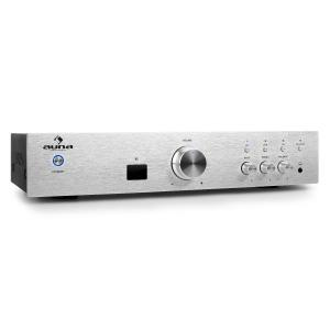 AV2 CD508BT HiFi Stereo Amplifier Bluetooth 600W Silver Silver