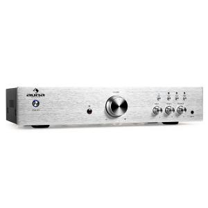 AV2-CD508 Hi-Fi Stereo Amplifier 600W Stainless Steel Silver