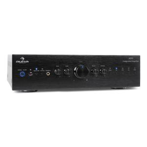 CD708 amplificatore stereo AUX Phono 600W nero nero