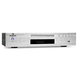 AV2-CD509 Reproductor CD Hifi Radio MP3 USB plateado Plata