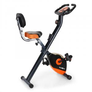 X-Bike 700 Cyclette richiudibile nera/arancione arancio