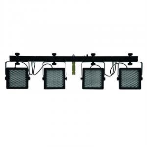 KLS-401 Kompakt-Lichtset 720 RGB-LEDs DMX