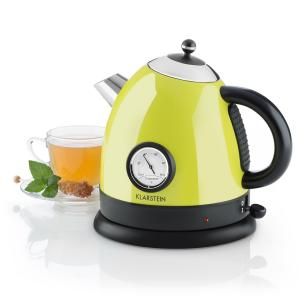Aquavita Kettle 1.5L 2200w Stainless Steel Citrus Green Green
