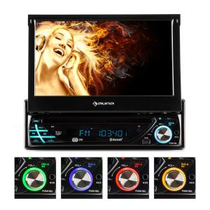 MVD-220 Autoradio DVD CD MP3 USB SD AUX 7'' touchscreen MVD-220