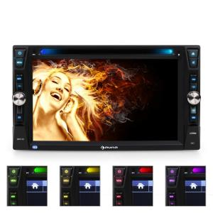 MVD-481 Moniceiver Bluetooth DVD CD USB HD 6,2''