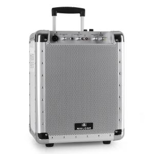 PAS1 Streetrocker Portable Active PA System USB SD AUX Bluetooth White